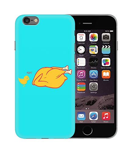 Fried Chicken Mom Dark Humour_BEN1814 Protective Phone Mobile Smartphone Case Handyhülle Hülle Cover Hard Plastic for iPhone XS MAX Funny Gift Christmas