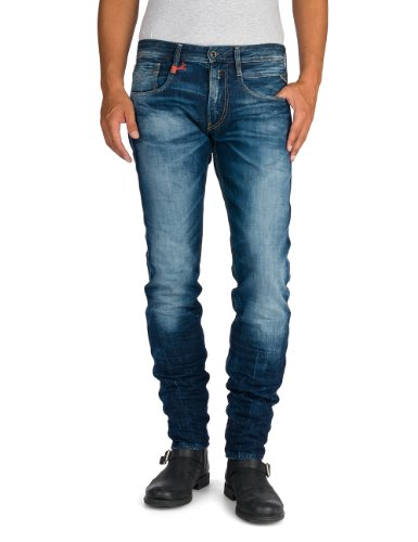 Replay Anbass - Jeans - Slim - Homme Bleu (blue Denim 7)