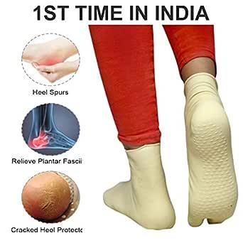Zency RUBBER INDUSTRY Water Proof Foot Heel Care Socks