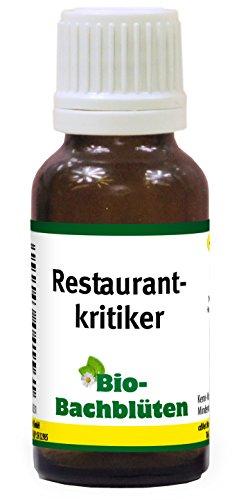 cdVet Naturprodukte Bio-Bachblüten Restaurantkritiker 20ml