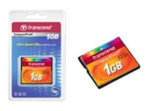 Transcend Compact Flash 1GB Standard 133x Memory Card (TS1GCF133)