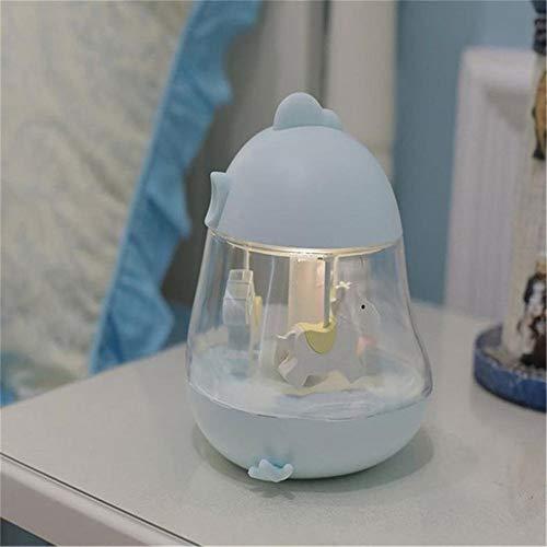 Mini Karussell Led Nachtlicht Für Kinder, Kinder Spielzeug Nachttischlampe Decor Schreibtisch Tischlampen Variable Farbe Für Jungen Mädchen Schlafzimmer, Geburtstagsgeschenk, Weihnachtsgeschenk