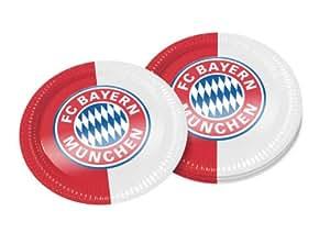 FC Bayern Partyteller 10er-Set