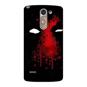 Cute Horror Red Back Case Cover for LG G3 Stylus