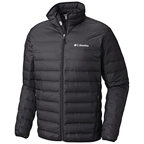 Columbia Lake 22 Down Jacket Doudoune Homme, Black, FR : M (Taille Fabricant : M)
