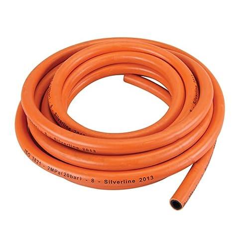Silverline 384964 Tuyau à gaz sans connecteurs - Tubo Gas Plumbing