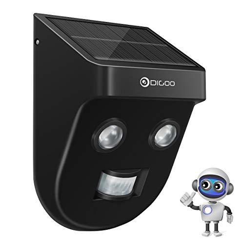 Applique solari, luce solare esterna per sensori, luci solari a LED DIGOO con copertura di rilevamento di 26 piedi a 120 °, luci di sicurezza impermeabili IP45 per porte, vialetti