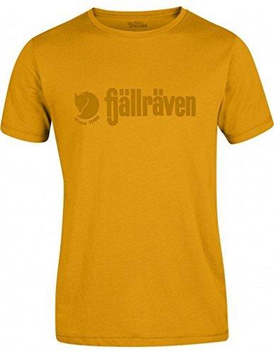 Fjällräven Herren T-Shirt Retro campfire gelb 156