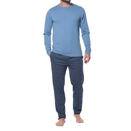 Jockey Loungewear Pyjama mit Karierter Hose Herren (Team-pyjama-hose-muster)