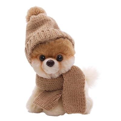 Gund 4033196 - Itty Bitty Boo, perro de peluche con gorro y bufanda (12.5 cm) de Gund
