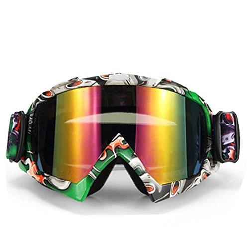 hifuture Helm Brille Radbrille Motorradbrille High-Definition Objektiv kratzfest Wind Staub Eye Outdoor Ausreit Schutz Sicherheit Gläser #02