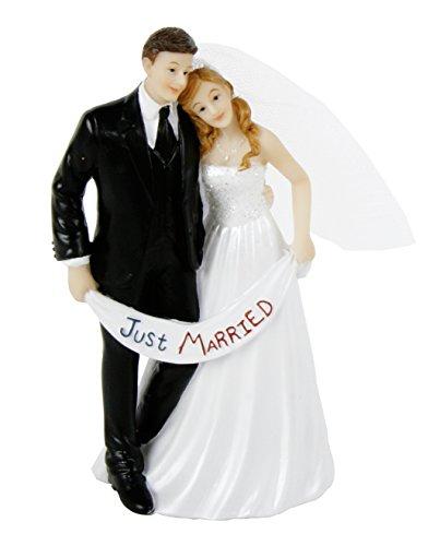 Deko Brautpaar Polyresin