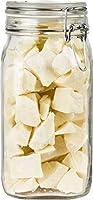 100% Sortenreine Bio Kakaobutter (650g) - Im praktischen Bügelglas - Aus der Dominikanischen Republik - Vegan & Fairtrade