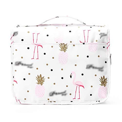 Qqzq borsa da toilette sospesa borsa da viaggio cosmetica borsa da trucco per donna kit da uomo con gancio per le vacanze