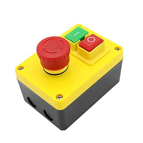KEDU KJD17D-2 Pulsante Interruttore Magnetico di Sicurezza Industriale Emergeny Fermata Degli Interruttori,16A 220V