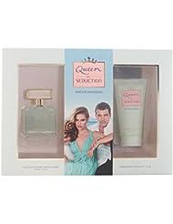 Antonio Banderas Queen of Seduction Set d'Eau de Toilette + Lotion Corporelle + Trousse 100 ml