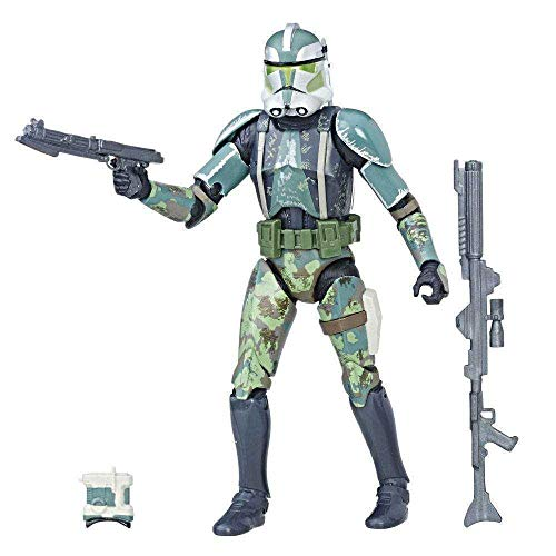 Star Wars Episode III Black Series Action Figure Clone Commander Gree 2017 Exclu