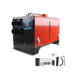 iBelly Heizöfen Heizlüfter 5KW 12V 24V Calentador de Combustible Diesel de Aire de Estacionamiento con Soplador de Aire Caliente Compacto de Bajo Ruido para Automóviles Camiones Barcos 3