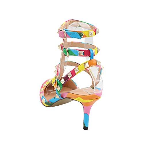 MERUMOTE, Scarpe col tacco donna Multicolored