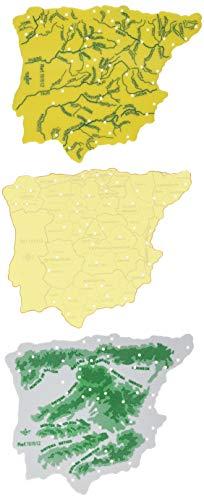CSP 151512 - Pack 3 plantillas diseño mapa España
