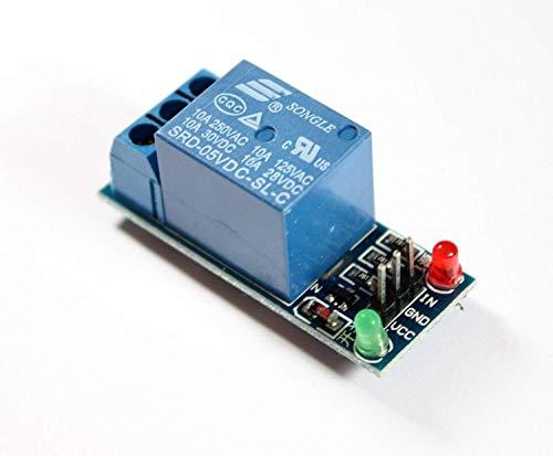 1-Kanal-Relais-Modul, 5V Relay-Module mit Status-LEDs für Arduino, Genuino