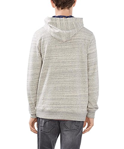 edc by ESPRIT Herren Sweatshirt Weiß (Off White 110)