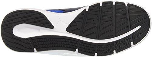 Puma Nrgy Dynamo, Chaussures de Cross Homme Bleu (Turkish Sea-peacoat-puma White)