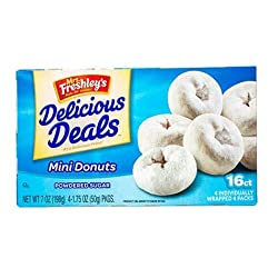 Mrs. Freshley's Powdered Mini Donuts (6-pk)