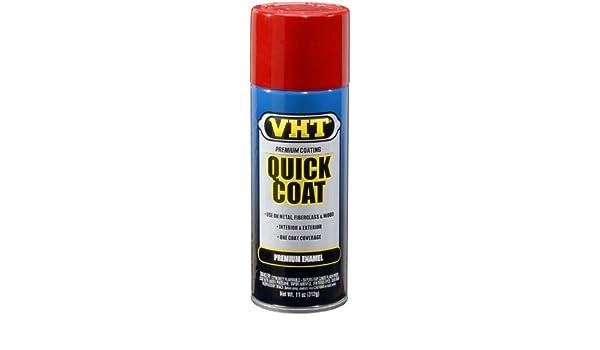 VHT SP501 Fire Red Quick Coat Acrylic Enamel