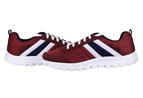 Toni Ellen Leopard Adulte Chaussures Homme Femme Unisexe Chaussures de sport Sneaker EU 40 - 44 Bordeaux