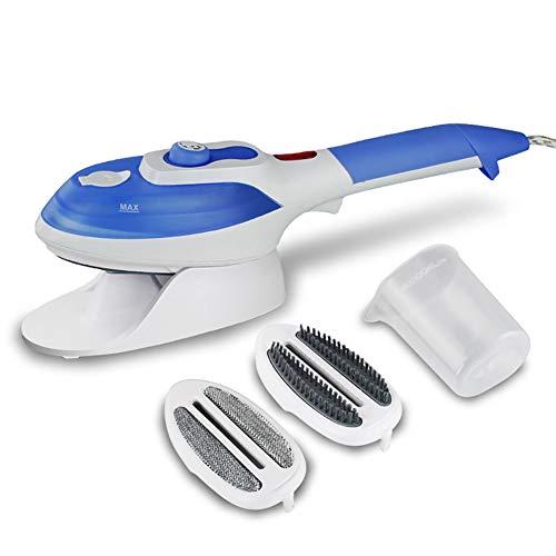 Tragbare Stoffflachbügeldampfer Home und Reise Kleidung Steamer Handheld Flatiron Brush (Kleidung Dampfer Tragbare)