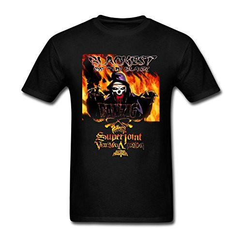 Design t-shirt for Uomos 100% Cotton-Superjoint Ritual Blackest of the Black