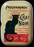 Motif Chat Noir mint tin Pill Box Pill Box Mint Box Small Money Box by Heart of Ireland