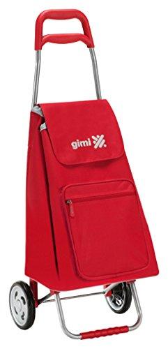 Gimi 154675 Argo Einkaufstrolley, rot, 30 kg