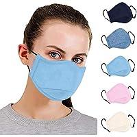 5 PCS Adultos A prueba de polvo, correas para los oídos ajustables lavable algodón Transpirables adecuado para deportes al aire libre