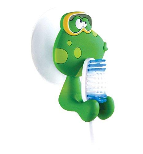 Outlook Design V6C0500200 Funky Animals FROGGY Zahnbürstenständer mit Saugnapf Funky Animal