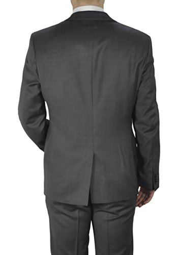 Michaelax-Fashion-Trade - Costume - Uni - Manches Longues - Homme Gris - Grau (14)