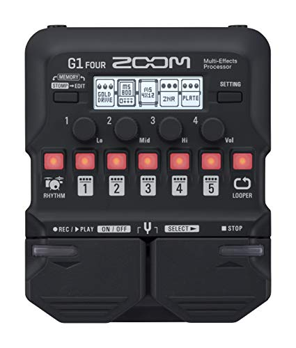 Zoom G1 Four/UK Guitar Multi-Effects Pedal
