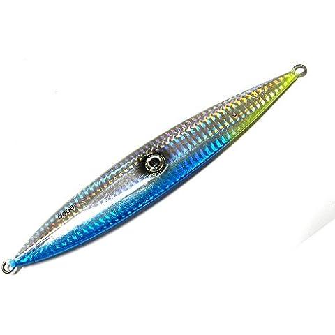 HENGJIA 200g/17.8cm metal plomo señuelo de pesca Hundimiento gancho Jigs para Mar/Ocean no gancho cebo artificial lb012,