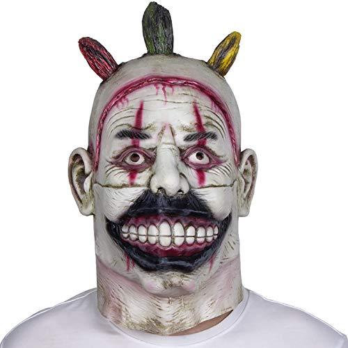 WULIHONG-MaskeScary Movie Maske Latex Vollkopf Horror Halloween Maske Latex Maskenx14041 (Halloween-rob Zombie-full Movie)