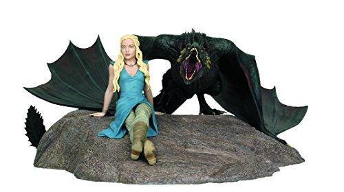 Game Of Thrones Daenerys & Drogon Statue