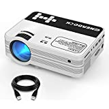 Mini Beamer, EnerDock Mini Projektor 2500 Lumen Full HD 1080P LED Video Beamer 176