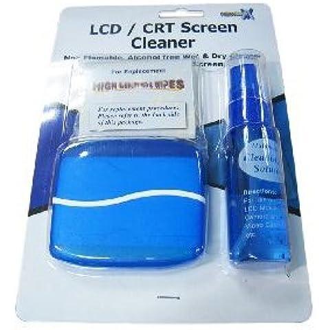 Combo wet & dry kit di pulizia/spray & pulire la spazzola - per la pulizia di notebook con schermo LCD TFT monitor LED Plasma