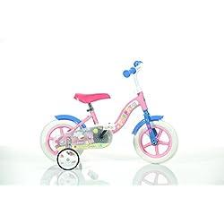 "Dino Bikes- Vélo Fille-Peppa Pig, 108 L, 10"""