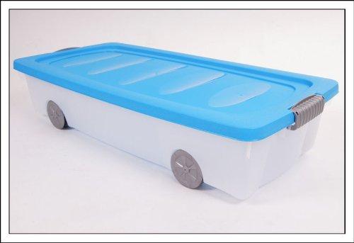 Unterbettkommode mit Rollen 40 Liter - verschiedene Farben