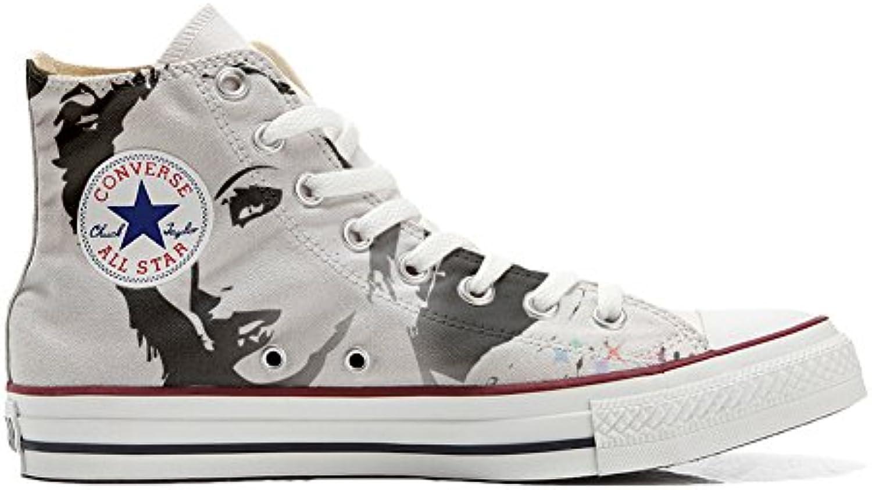 Shoes Custom Converse All Star  personalisierte Schuhe (Handwerk Produkt) Blondie