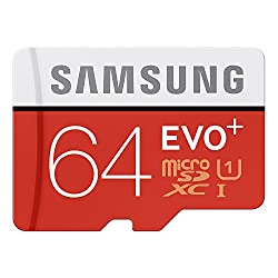 Samsung 64 GBmicroSDXC Evo+ Class 10 Memory Card
