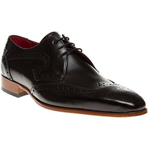 Jeffery West J924 Homme Chaussures Noir Noir