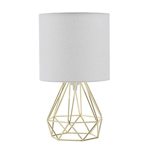 Sfeomi Lámpara de Mesa Diamante E27 Lampara para Mesillas de Noche ...