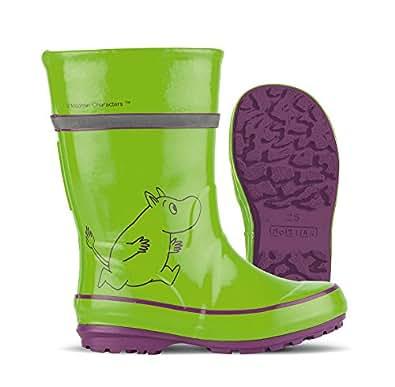 Nokian Footwear - Wellington boots -Moomin- (Kids) lime green, size EU 21 [775-83-21]